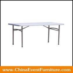 long plastic folding table