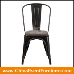 metal bistro chairs