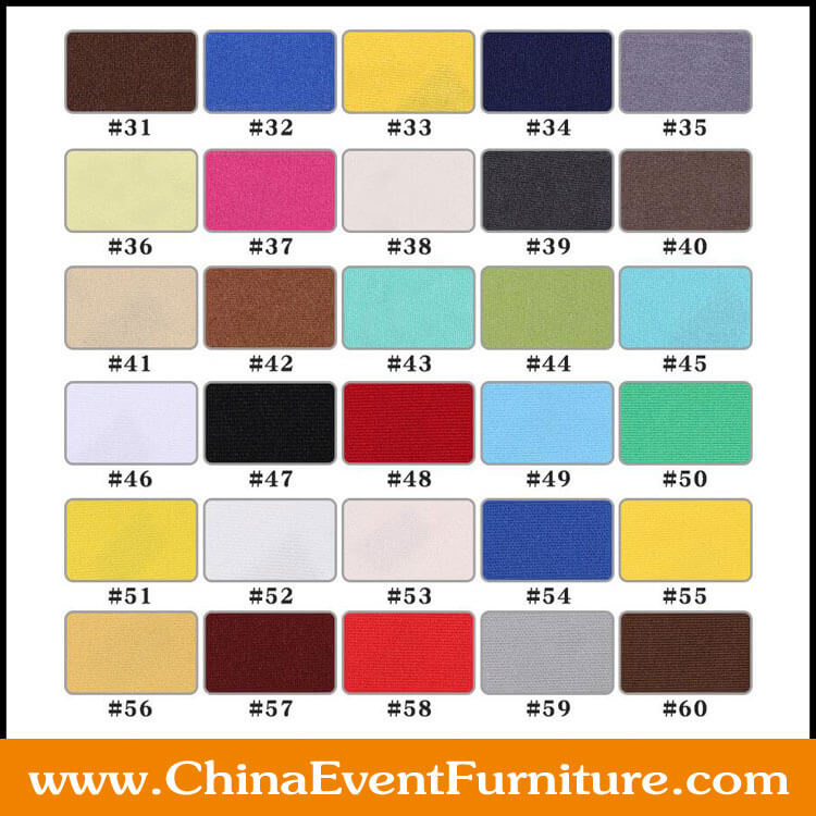 table cloth color samples