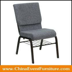 gray church chairs