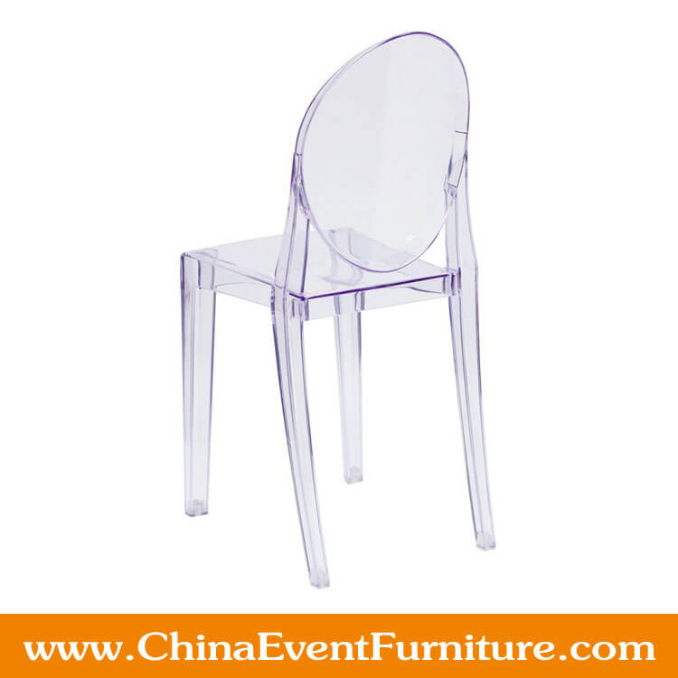 Ghost Chair In Transpa Crystal