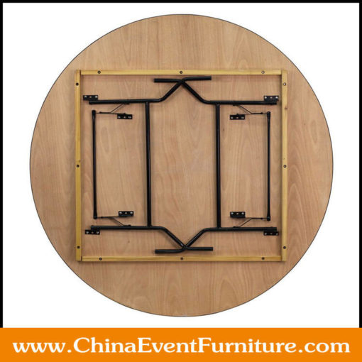 72 inch round folding table