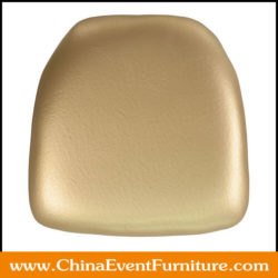 gold chair cushions