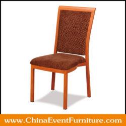 aluminum restaurant chair