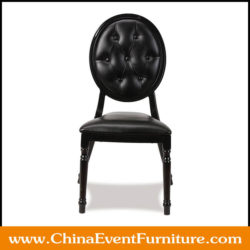 black banquet chairs