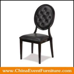 black-vinyl-dining-chairs