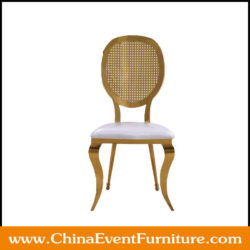 Gold Wedding Chairs Rental