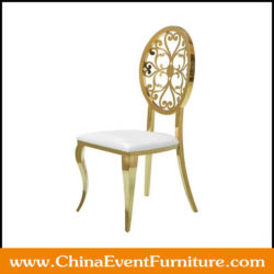 gold party chairs