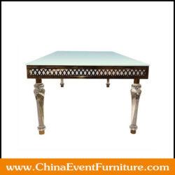 rectangular-stainless-steel-dining-table