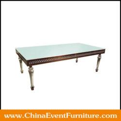 rectangular wedding tables