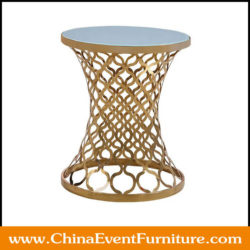 gold round coffee tables