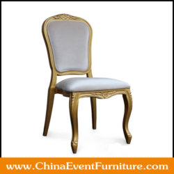 gold banquet chairs