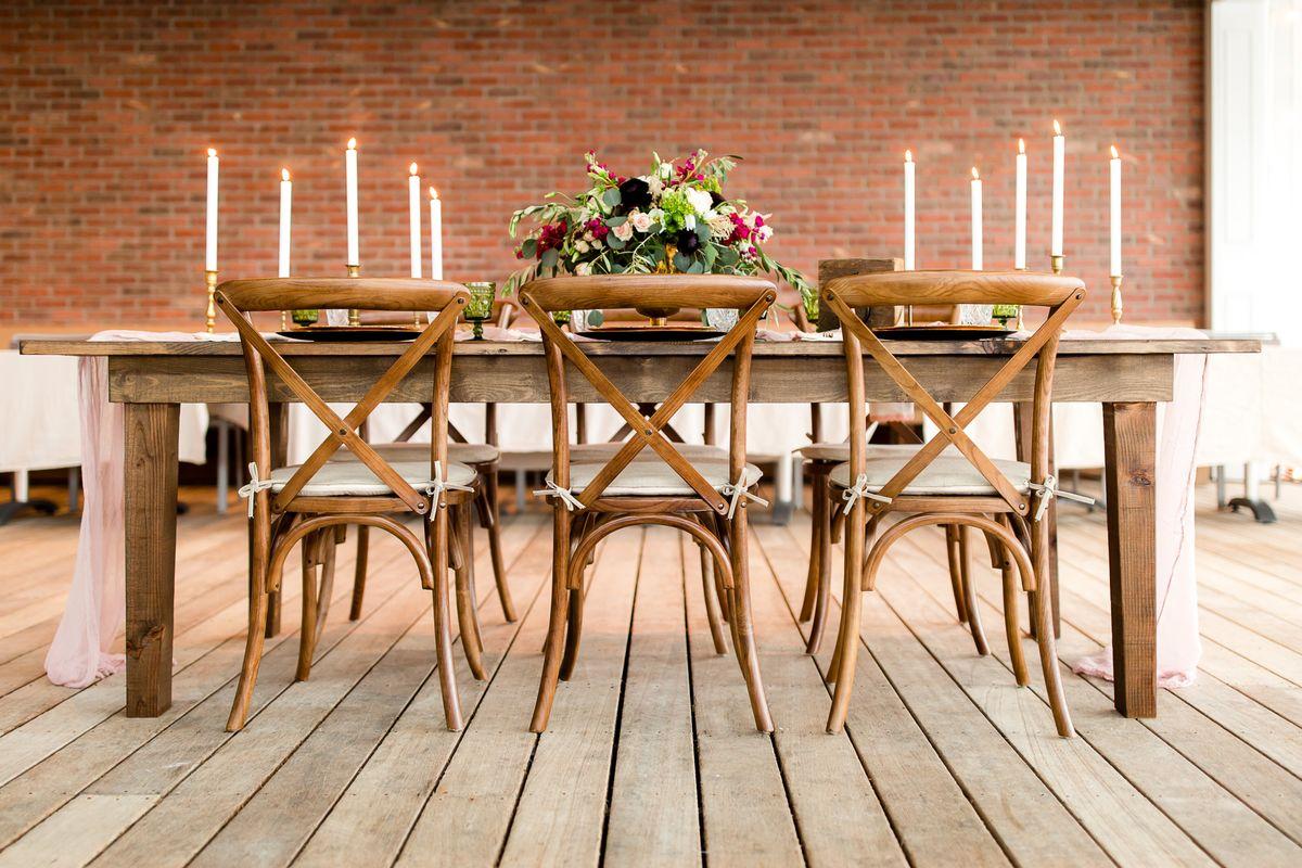 Folding Farm Table