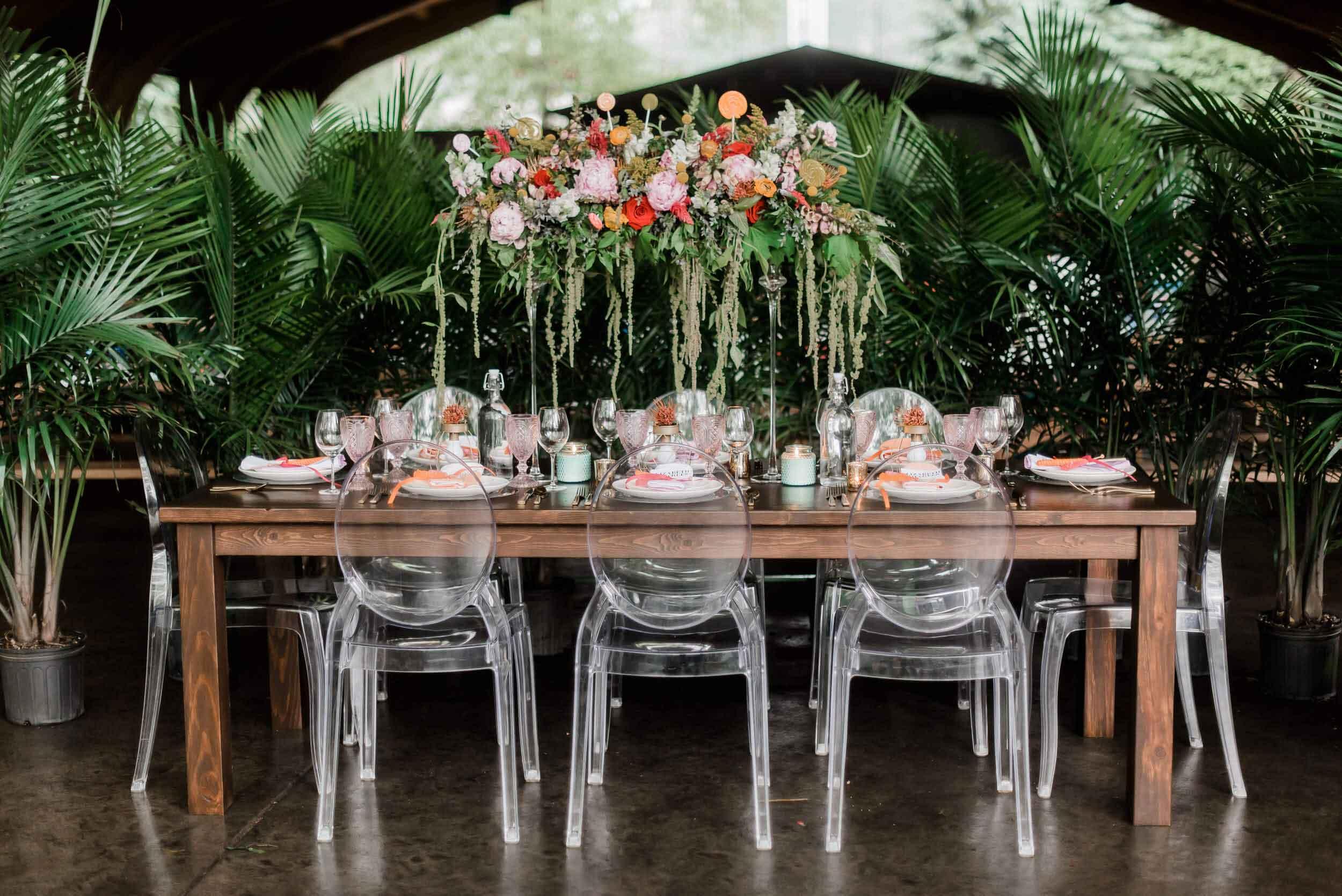 Narrow Farm Tables