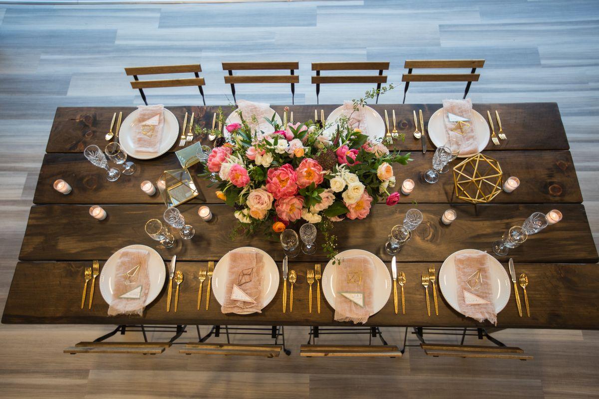 Wood Farmer Table