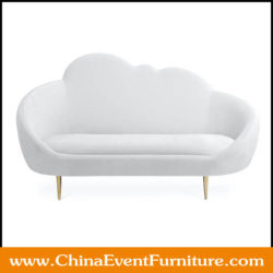 wedding sofa for bride and groom