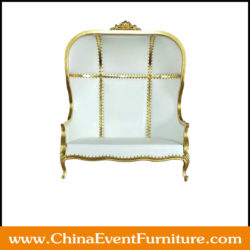 gold wedding sofa for sale