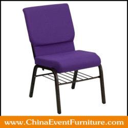 purple church chairs